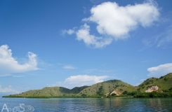 First beachs of Komodo island