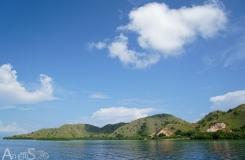 First beachs of Komodo island